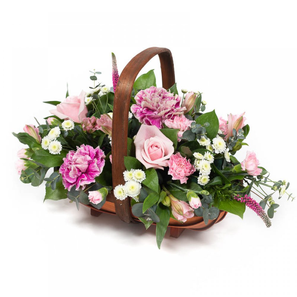 Alicia Flower Basket