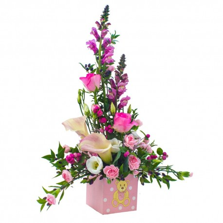 Baby Girl Arrangement